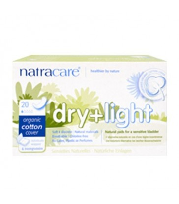 NATRACARE DRY & LIGHT INCONTINENCE PAD 20 PK