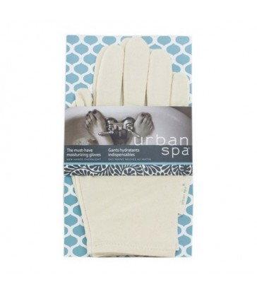 URBAN SPA THE MUST-HAVE MOISTURIZING GLOVES 1 PAIR