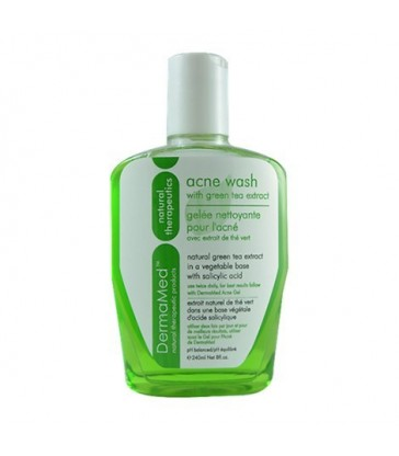 DERMA MED ACNE WASH WITH GREEN TEA EXTRACT 240 ML
