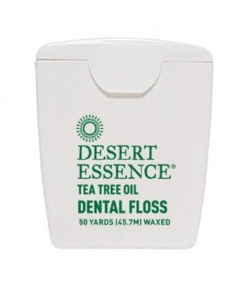 DESERT ESSENCE TEA TREE OIL DENTAL FLOSS 50 YD