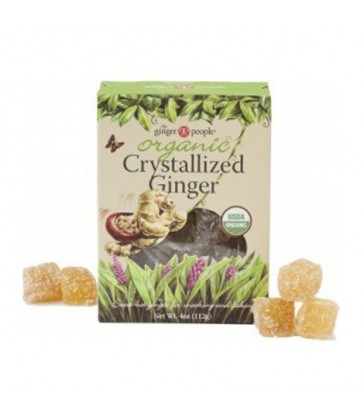 THE GINGER PEOPLE ORGANIC CRYSTALLIZED GINGER 112 G