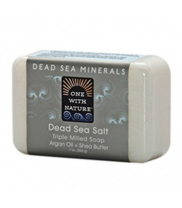 ONE WITH NATURE BAR SOAP DEAD SEA SALT 200 G