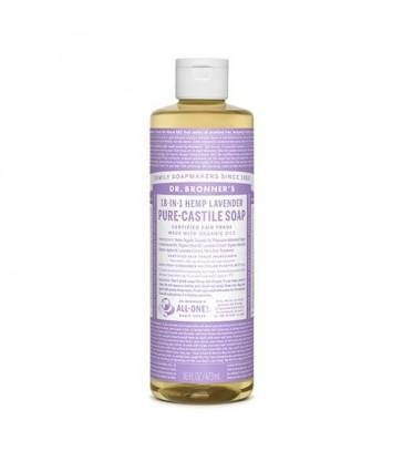 DR. BRONNER'S ORGANIC CASTILE LIQUID SOAP LAVENDER 472 ML
