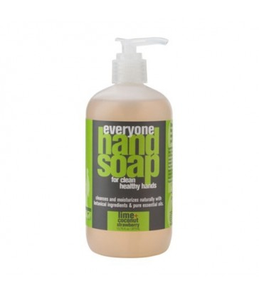 EO EVERYONE HAND SOAP LIME + COCONUT WITH STRAWBERRY 377 ML
