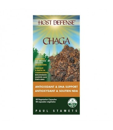 HOST DEFENSE CHAGA EXTRACT 60 VC