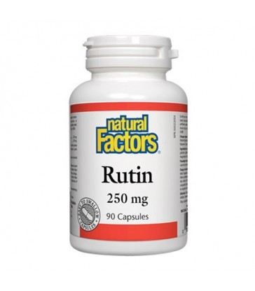 NATURAL FACTORS RUTIN 250MG 90 CP