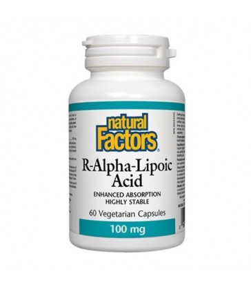 NATURAL FACTORS R-ALPHA-LIPOIC ACID 60 VC