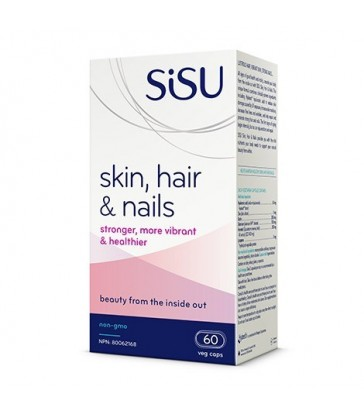SISU SKIN, HAIR & NAILS 60 VC