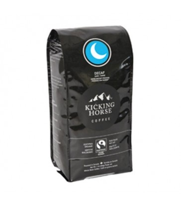 KICKING HORSE COFFEE ORGANIC WHOLE BEAN DARK DECAF 454 G