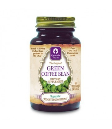 GENESIS TODAY GREEN COFFEE BEAN EXTRACT 60 VC