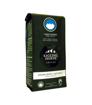 KICKING HORSE COFFEE ORGANIC WHOLE BEAN 3 SISTERS 454 G