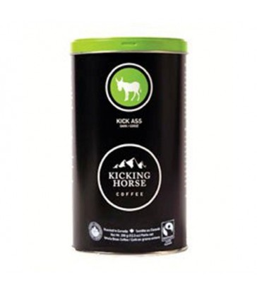 KICKING HORSE COFFEE ORGANIC WHOLE BEAN KICK ASS CAN 350 G