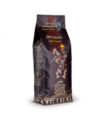 VOETS COFFEE ORGANIC WHOLE BEAN TRIBAL JAVA OFFERING 454 G