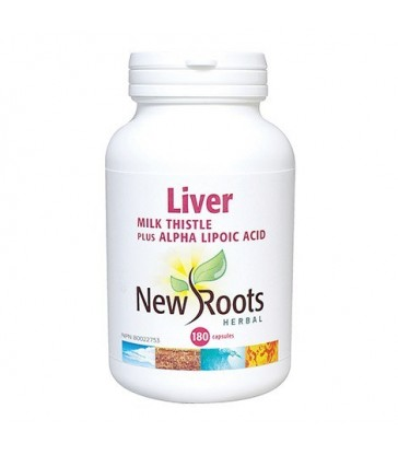 NEW ROOTS LIVER FORMULA WITH MILK THISTLE 180 VC