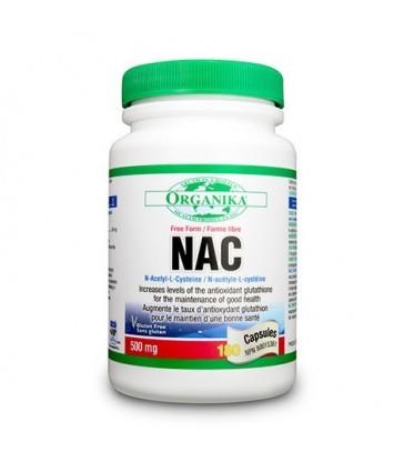 ORGANIKA NAC N-ACETYL-L-CYSTEINE 180 CP