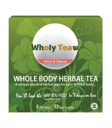 INNOTECH NUTRITION WHOLY TEA-DETOX & CLEANSE 8 BG
