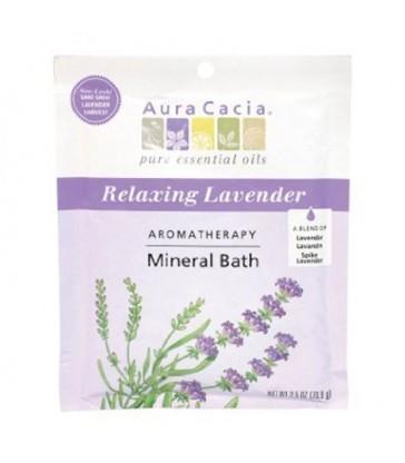 AURA CACIA MINERAL BATH LAVENDER HARVEST 71 G