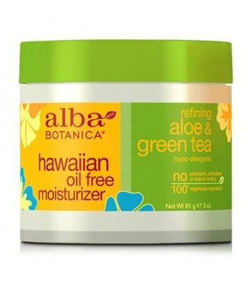 ALBA BOTANICA ALOE & GREEN TEA OIL-FREE HAWAIIAN MOISTURIZER 85 G