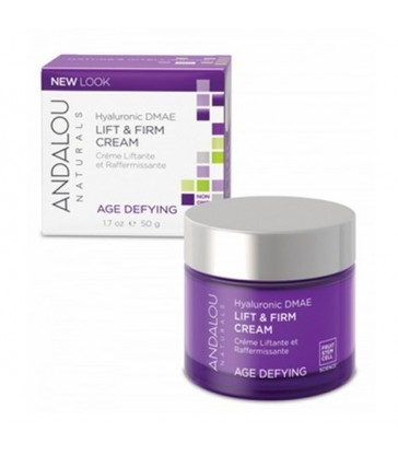 ANDALOU NATURALS HYALURONIC DMAE LIFT & FIRM CREAM 50 G
