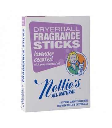 NELLIE'S DRYERBALL FRAGRANCE STICKS LAVENDER 10 PK