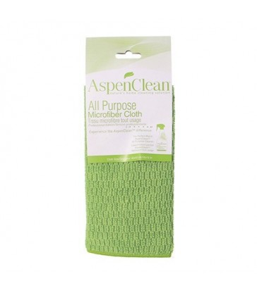 ASPENCLEAN ALL PURPOSE MICROFIBER CLOTH 1 EA