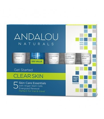 ANDALOU NATURALS CLEAR SKIN GET STARTED KIT