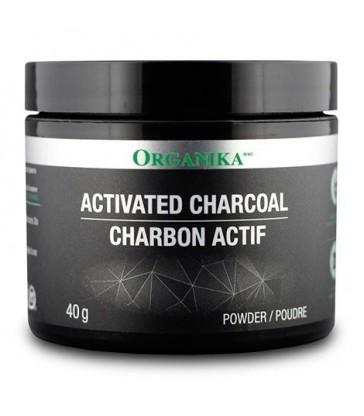 ORGANIKA ACTIVATED CHARCOAL POWDER 40 G