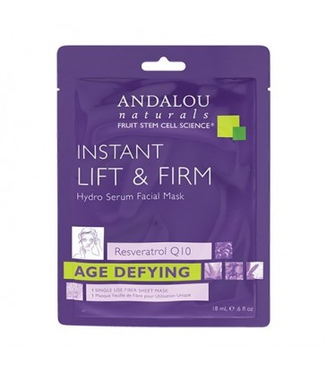 ANDALOU NATURALS INSTANT LIFT & FIRM HYDRO SERUM FACE MASK 18 ML